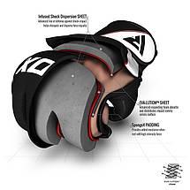 Перчатки ММА RDX Rex Leather Black XL, фото 3