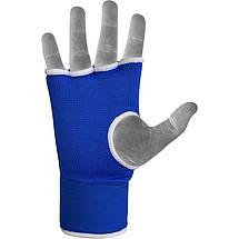 Бинт-перчатка RDX Inner Gel Blue XL, фото 3