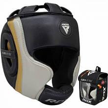 Боксерський шолом RDX Aura Golden XL
