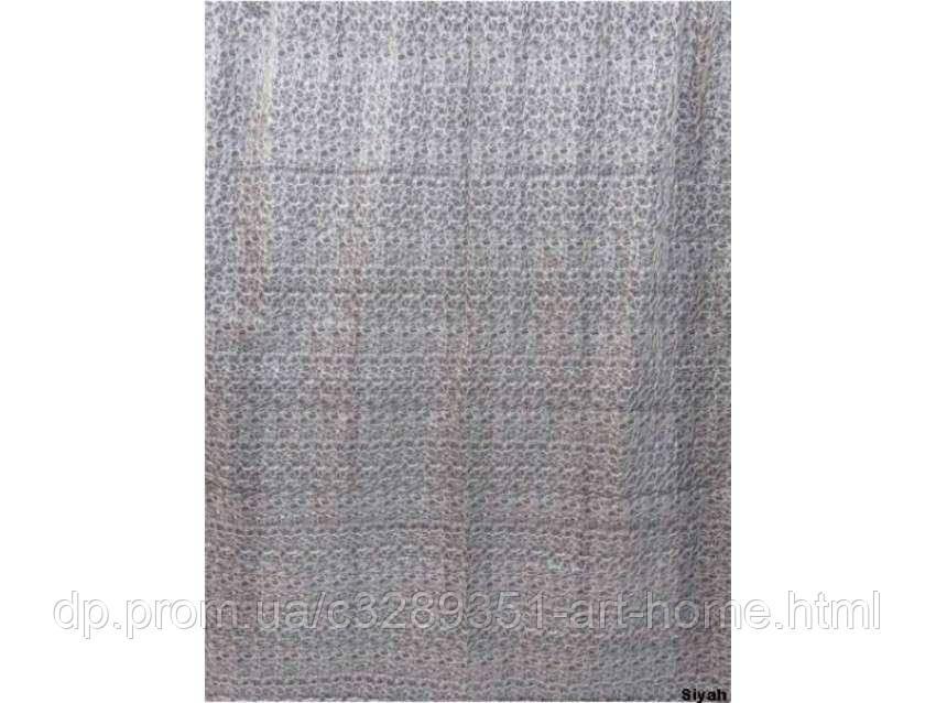 Шторы Arya Вышивка Органза 200X270 2700 Siyah AR-K202700