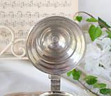 Коллекционный оловянный бокал для пива, немецкая пивная кружка, Германия, Олово, фото 9