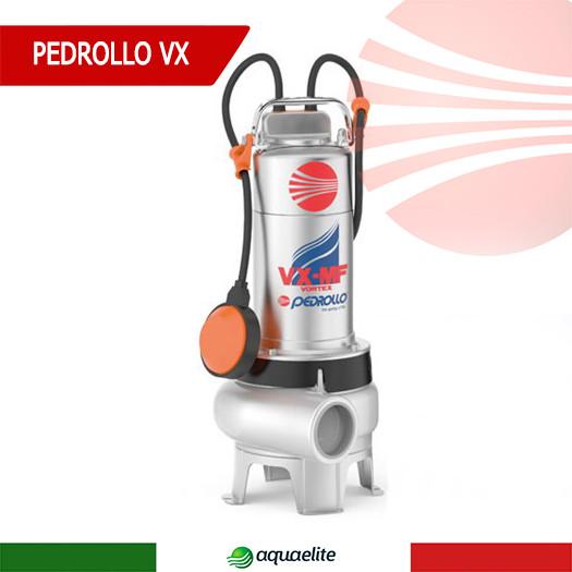 Фекальный насос Pedrollo VXm 10/35-MF из нержавеющей стали
