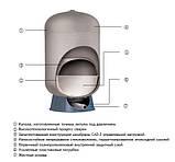 Гидроаккумулятор 300л композитный GWS C2-Lite CAD (C2B-300LV), фото 2