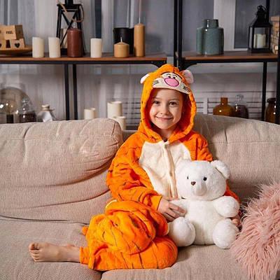 Взрослый Кигуруми - Тигруля - пижама взрослая, пижама теплая серия Premium Velsoft