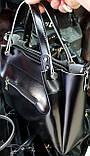 Женские сумки из искусственной кожи на змейке 32*27 см, фото 2