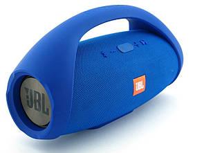 Блютуз колонка JBL Boombox BIG super bass влагозащищенная Синий