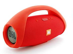 Блютуз колонка JBL Boombox BIG super bass влагозащищенная Красный