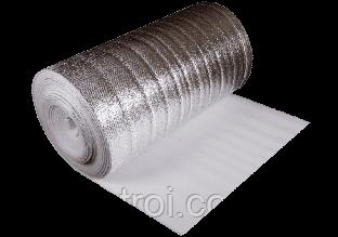 Утеплитель фольгированный толщина 5 мм, ширина 1 м Изолон