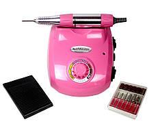 Профессиональный фрезер Glazing Nail Master 208 розовый