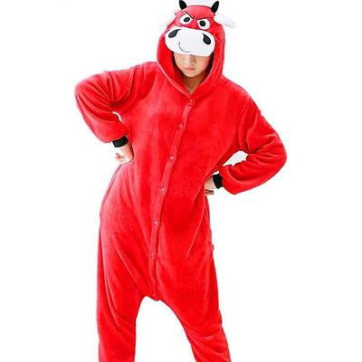 Взрослый Кигуруми - Бык - пижама взрослая, пижама теплая серия Premium Velsoft
