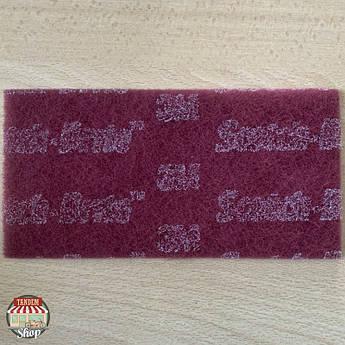Матуючий лист 3M Scotch-Brite™ Durable Flex, 115 мм x 230 мм Червоний (P320-P360)