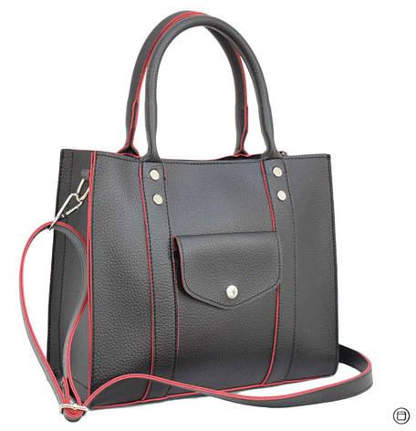 580 сумка чорна чн, фото 2
