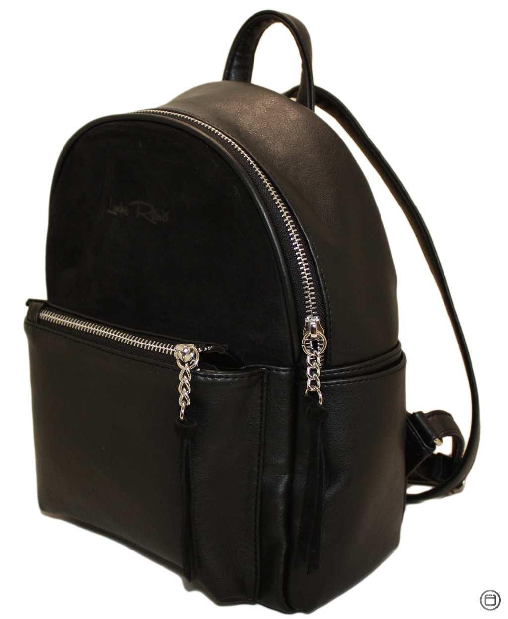 Женский рюкзак Case 450 черный замш н