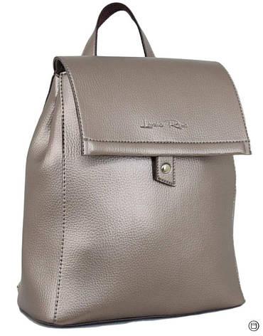Женский рюкзак экокожа Case 608 серебряная бронза, фото 2