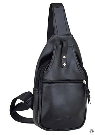 Женская сумка из кожзама Case 602 черная г, фото 2