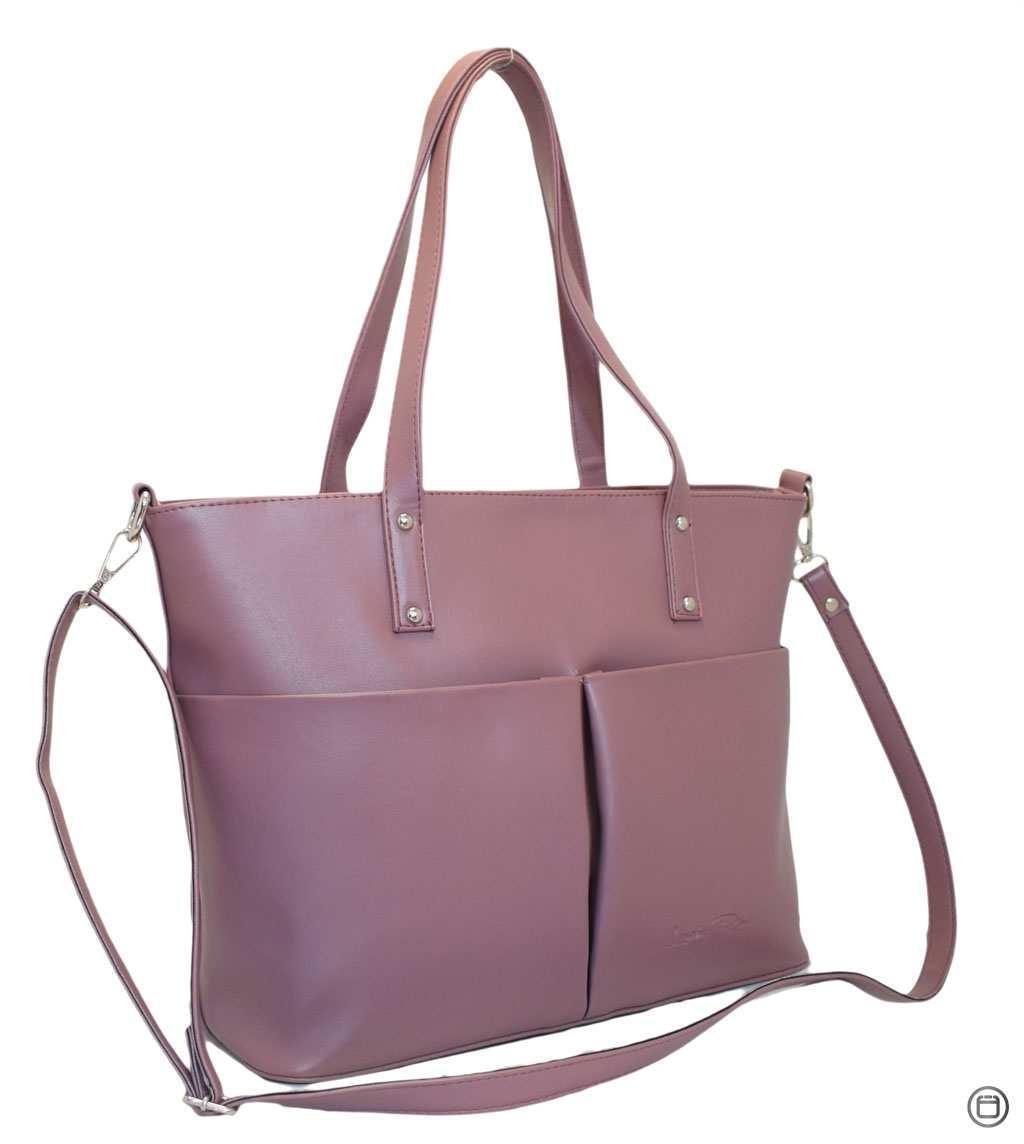 Жіноча сумка зі шкірозамінника Case 448 лілова