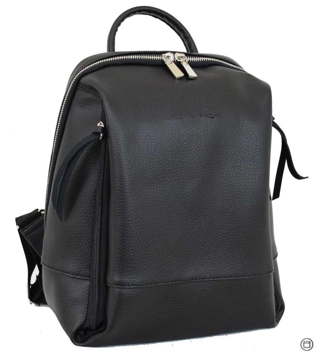 Женский рюкзак кожзам Case 606  черный