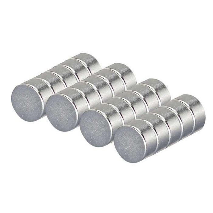Неодимовый магнит диск (шайба) 8x5 мм