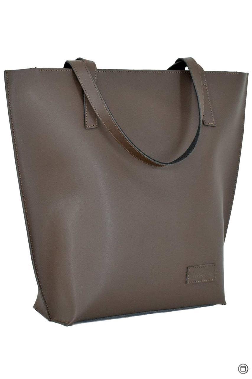 Жіноча шкіряна сумка 146 коричнева