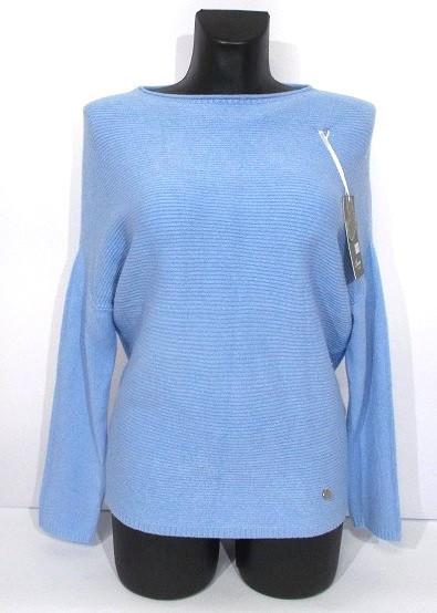 Cвитер кашемир и шерсть №8005 Польша размер L-XL голубой