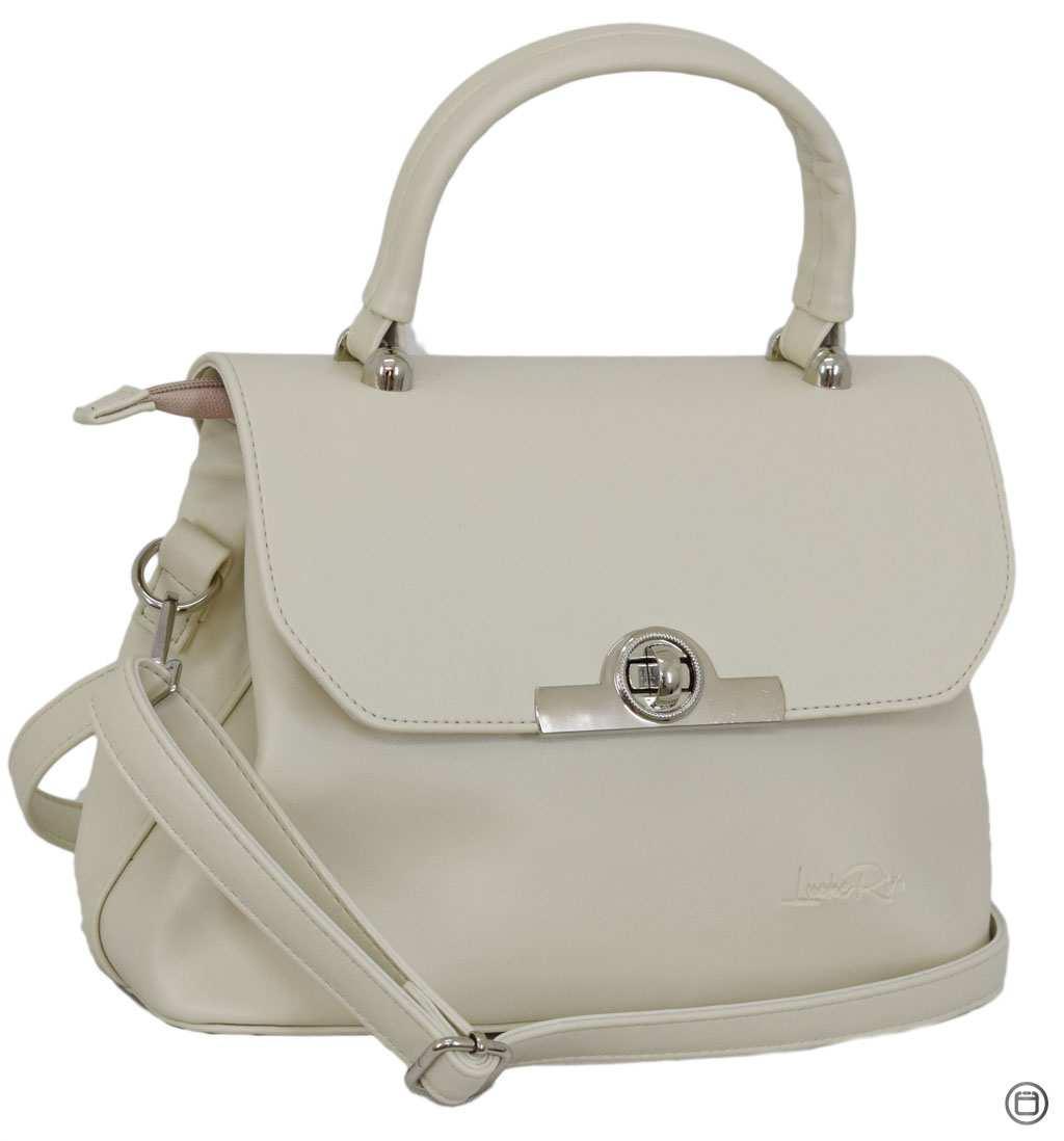 Стильная женская сумка Case 622 беж г