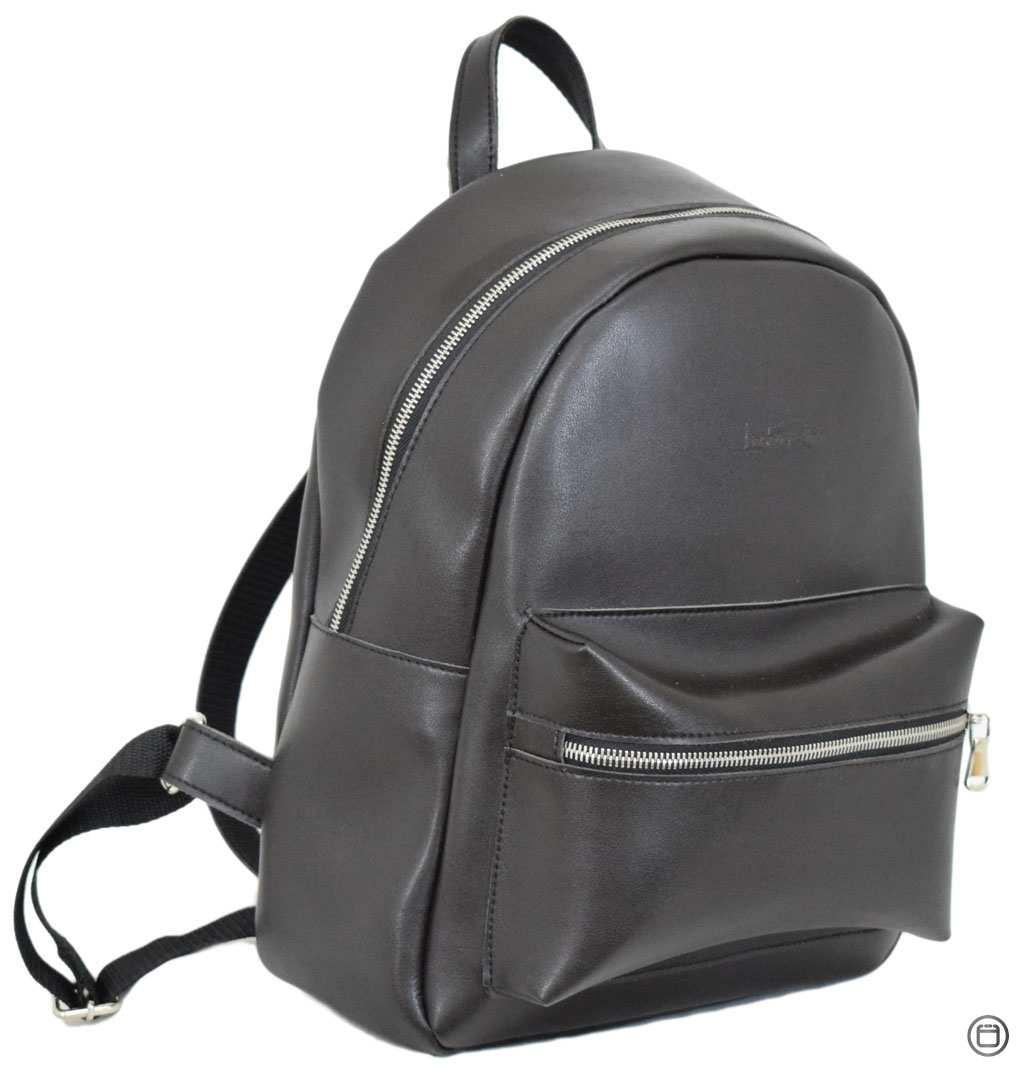 Жіночий міський рюкзак Case 655 чорний шоколад