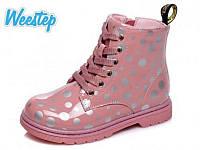 Ботинки детские Weestep R223155003 P для девочек розовые 22р.