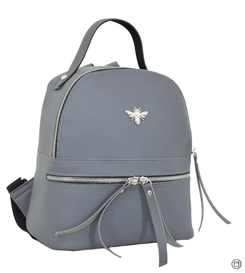 653 рюкзак серый