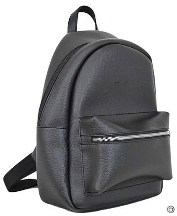 Женский городской рюкзак Case 655 черный, фото 2