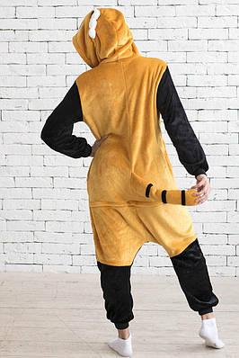 Кигуруми - Енот - Одежда для дома -  Пижама детская, пижама теплая Premium Velsoft