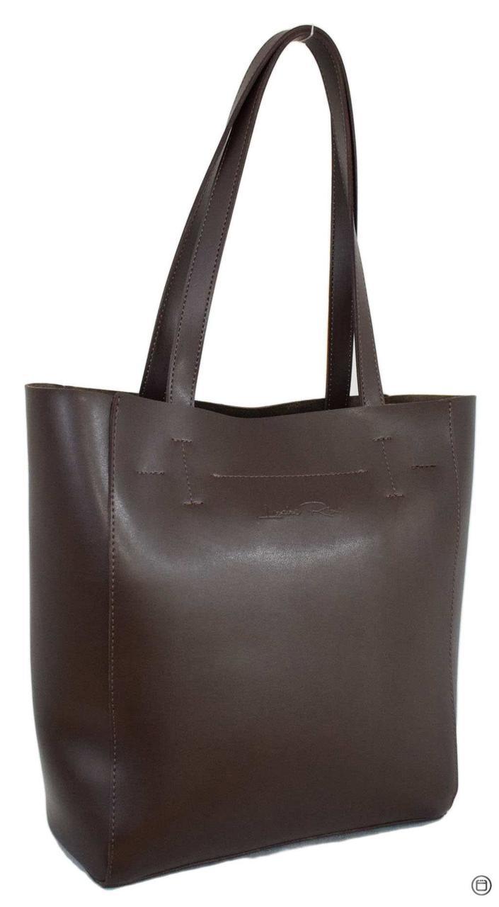 Женская сумка-шоппер Case 518 шоколад н