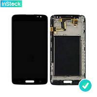 Дисплей (экран) для LG D680 G Pro Lite/ D682 G Pro Lite Dual + Сенсор/ Тачскрин (Модуль) черный с рамкой (передней панелью)*