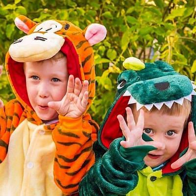Кигуруми - Тигруля - Одежда для дома - Пижама детская, пижама теплая Premium Velsoft