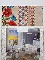 Скатерть в украинском стиле 142х193см., фото 1