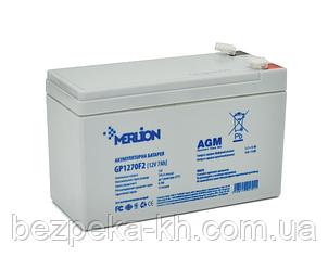 Аккумуляторная батарея  MERLION AGM GP1270F2
