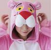 Кигуруми - Розовая пантера  - Одежда для дома - Пижама детская, пижама теплая Premium Velsoft, фото 3