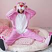 Кигуруми - Розовая пантера  - Одежда для дома - Пижама детская, пижама теплая Premium Velsoft, фото 2