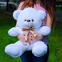 Плюшевый мишка 65 см белый, Подарок для девушки, детям