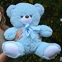 Плюшевый мишка 65 см голубой, Подарок для девушки, детям