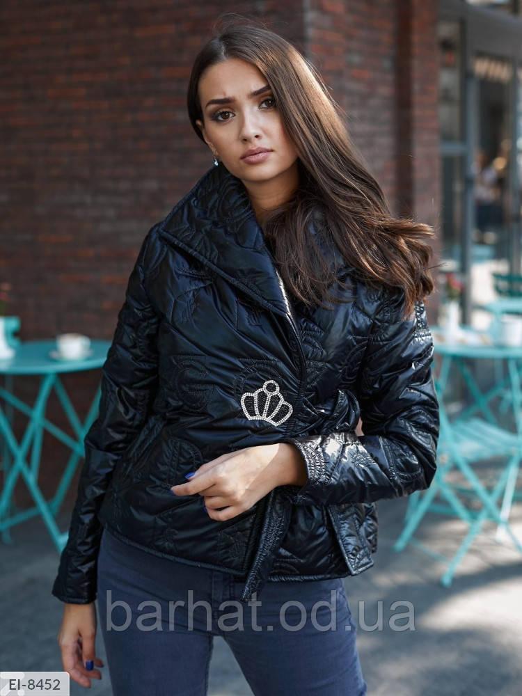 Куртка женская на осень L-XL, S-M размер