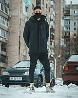 Куртка демисезонная мужская  Пушка Огонь Frost черная