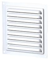 Решетка вентиляционная МВМ 125 белая, металлическая, фото 1