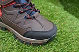 Демисезонные детские ботинки темно коричневые 28 - 35, фото 2