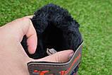 Демисезонные детские ботинки темно коричневые 28 - 35, фото 8