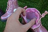 Детские демисезонные ботинки на девочку лаковые розовые р23-28, фото 4