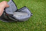 Подростковые демисезонные сапоги ботинки на липучке черные р33 - 38, фото 4