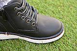 Демисезонные детские ботинки Clibee для мальчика черные р26-36, фото 2