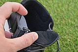 Демисезонные детские ботинки Clibee для мальчика черные р26-36, фото 3