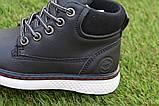 Демисезонные детские ботинки Clibee для мальчика черные р26-36, фото 5