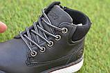 Демисезонные детские ботинки Clibee для мальчика черные р26-36, фото 7